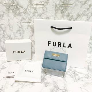 フルラ(Furla)の★超レア★ 高級感漂うレザー★FURLA 三つ折り財布 ミニ財布 レディース(財布)
