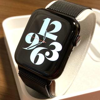 Apple Watch - Apple Watch Series 4 セルラー 44mm ブラックステンレス