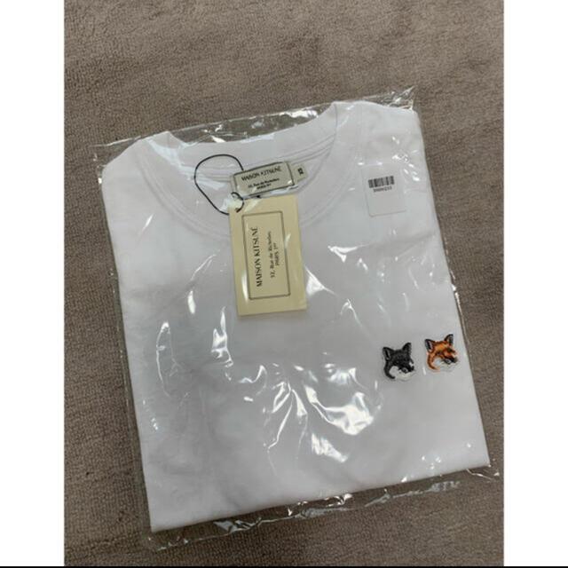 MAISON KITSUNE'(メゾンキツネ)のメゾンキツネ  tシャツ レディース メンズ 新品 メンズのトップス(Tシャツ/カットソー(半袖/袖なし))の商品写真