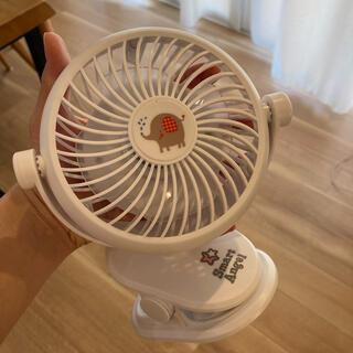 ニシマツヤ(西松屋)の電池式 扇風機(扇風機)