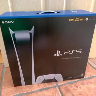 新品 PlayStation 5 デジタルエディション PS5 プレステ5