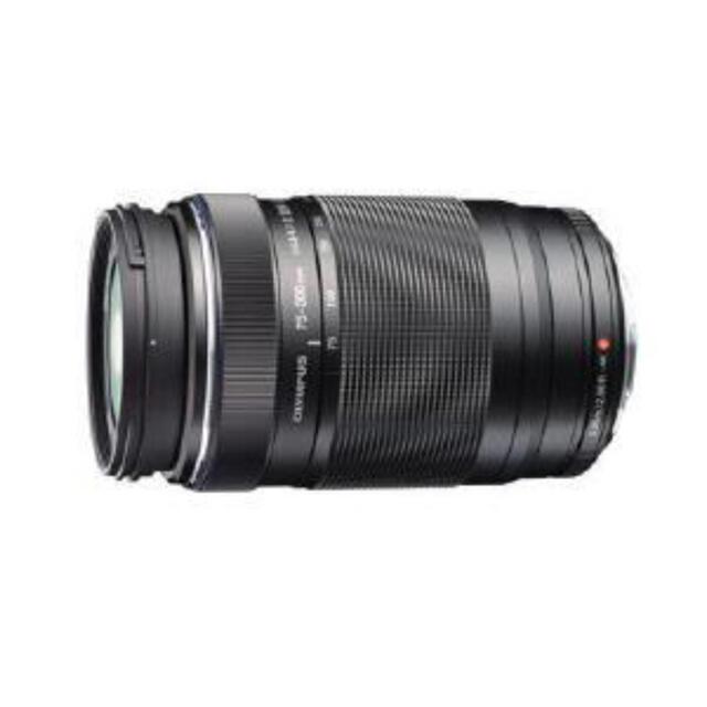 OLYMPUS(オリンパス)のオリンパス 交換用レンズ M.ZUIKO75-300mm F4.8-6.7 II スマホ/家電/カメラのカメラ(レンズ(ズーム))の商品写真