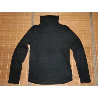 ユニクロ(UNIQLO)のユニクロ フリース タートルネック長袖Tシャツ(Tシャツ(長袖/七分))