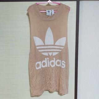 アディダス(adidas)のadidasサマーニット(カットソー(半袖/袖なし))