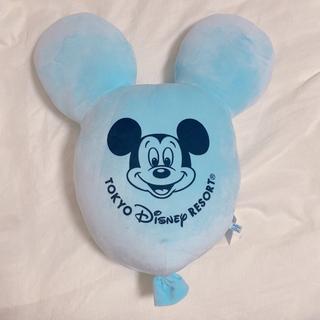 Disney - ディズニー バルーン クッション ミッキー ブルー