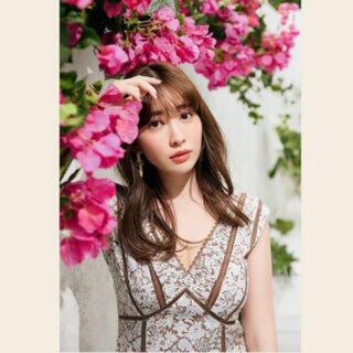 新品タグ付 herlipto Lace-Trimmed Floral