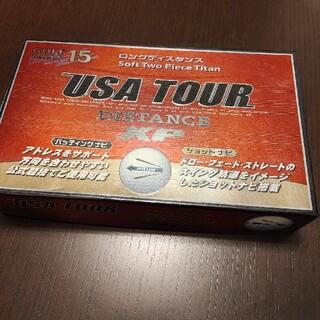 アサヒゴルフ(朝日ゴルフ)の新品未使用 USA TOUR DISTANCE XP ゴルフボール 15個(その他)