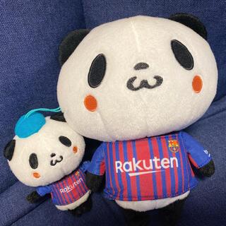 Rakuten - 【美品】お買いものパンダぬいぐるみ FCバルセロナ