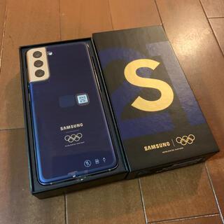 サムスン(SAMSUNG)のGalaxy S21 Olympic オリンピック アスリートモデル 選手用(スマートフォン本体)
