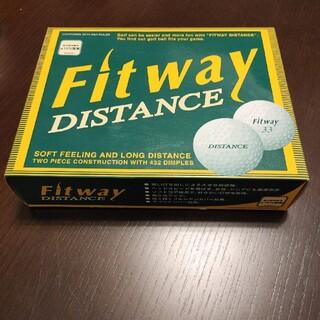 新品未使用 ゴルフボール Fit way Distance 12個(その他)