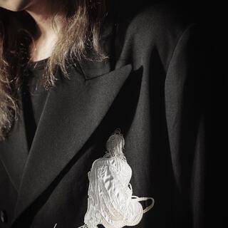 ヨウジヤマモト(Yohji Yamamoto)のYohji Yamamoto 女優刺繍 02ss replica(テーラードジャケット)