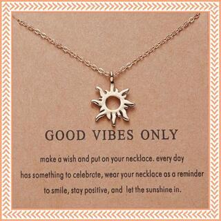 ネックレス レディース メンズ 太陽 プレゼント かわいい シンプル おしゃれ