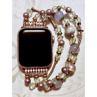 アップルウォッチ(Apple Watch)のApplewatch series4 GPS+セルラー 40mm ゴールド 中古(その他)