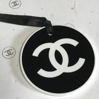 CHANEL - シャネルチャーム✿*:・丸型 白黒