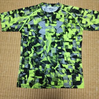 UNDER ARMOUR - アンダーアーマー Tシャツ ポリエステル100% 160 YXL