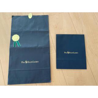 ポロラルフローレン(POLO RALPH LAUREN)のラルフローレン ショップ袋 2枚(ショップ袋)