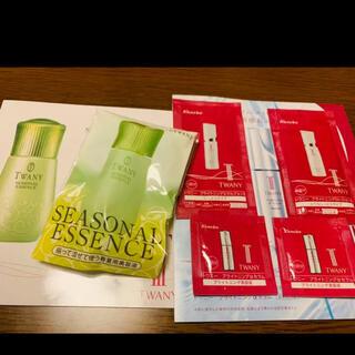 トワニー(TWANY)のトワニー サンプル シーズナルエッセンス 化粧水 美容液 乳液 試供品 ボトル(サンプル/トライアルキット)