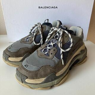 バレンシアガ(Balenciaga)のBALENCIAGA バレンシアガ triple S イタリア製 41(スニーカー)