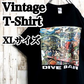 【ヴィンテージ】【XL】【2011年製】【DIVE BAR・海】【Tシャツ】