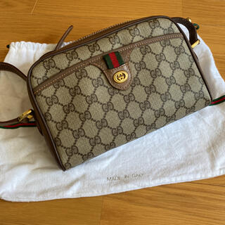 Gucci - 保管品 極美品 オールドグッチ シェリーライン ミニショルダーバッグ