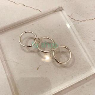 ロンハーマン(Ron Herman)のシルバー925 3連リング (リング(指輪))