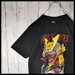 アゲインスト(AGAINST)のGuns N' Roses ガンズアンドローゼズ 両面プリント ロックTシャツ(Tシャツ/カットソー(半袖/袖なし))