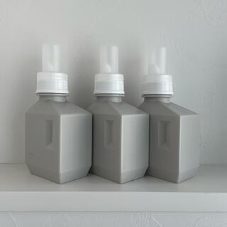 sarasa design ランドリーボトルS(500ml)3本セット(洗剤/柔軟剤)