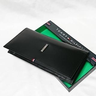 トミーヒルフィガー(TOMMY HILFIGER)のトミーヒルフィガー 長財布 31TL19X012 ブラック(長財布)