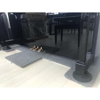 防音断熱 フラットボード 「静」 (アップライトピアノの床補強用品)(ピアノ)