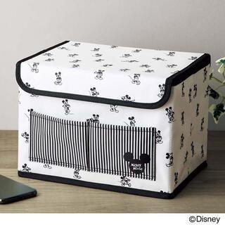 ミッキーマウス(ミッキーマウス)の【InRed 2021年8月号付録】ミッキーマウスデザイン 収納ボックス(未開封(小物入れ)