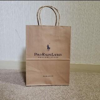 ポロラルフローレン(POLO RALPH LAUREN)のラルフローレン 紙袋 ショップ袋(ショップ袋)