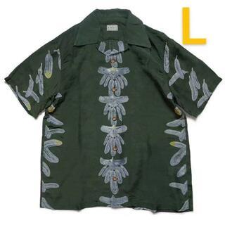 キャピタル(KAPITAL)のKAPITAL  フルプリントフローラル   半袖   シャツ(シャツ)