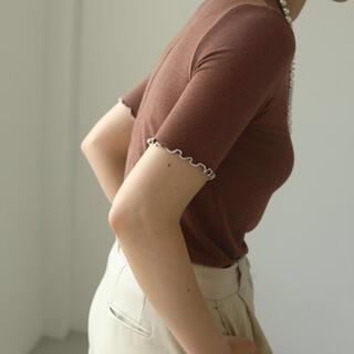 トゥデイフル(TODAYFUL)のtodayful ソフトタッチメロウTシャツ(Tシャツ(半袖/袖なし))