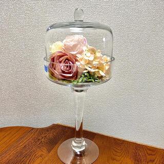 ザラホーム(ZARA HOME)のDULTON フラワードーム ガラスドーム 新品未使用(置物)