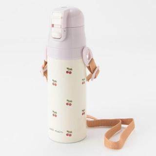 petit main - プティマイン 水筒 チェリー さくらんぼ ステンレスボトル 470ml