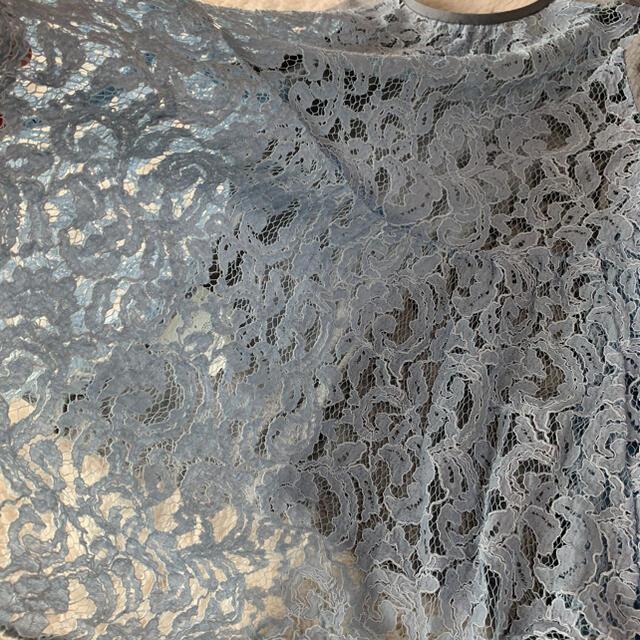 sacai luck(サカイラック)のsacai luck サカイラック たっぷりバックレースカットソー レディースのトップス(カットソー(半袖/袖なし))の商品写真