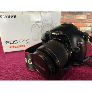 キヤノン(Canon)のCanon キャノン  EOS kiss X50 マウント レンズ 一眼レフ(デジタル一眼)