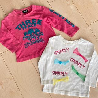 ティーケー(TK)のTK SAPKID Skip land カットソー ロンT 長袖シャツ 2枚(Tシャツ/カットソー)