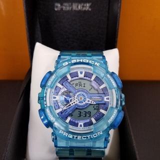 ジーショック(G-SHOCK)のG-shock GA110 アクアブルースケルトン(腕時計(デジタル))