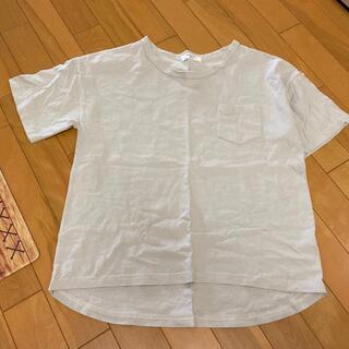 サマンサモスモス(SM2)のグレーTシャツ(Tシャツ/カットソー(半袖/袖なし))