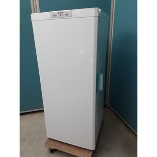 ミツビシ(三菱)の2021年製未使用品 三菱121L冷凍庫 省エネ&大容量 MF-U12F-W(その他)