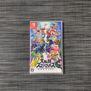 ニンテンドースイッチ(Nintendo Switch)の【美品】switch 大乱闘スマッシュブラザーズ SPECIAL(家庭用ゲームソフト)