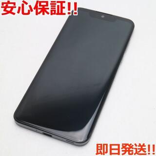 シャープ(SHARP)の美品 SH-M10 AQUOS zero アドバンスドブラック (スマートフォン本体)