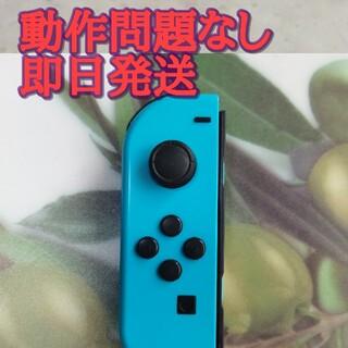 ニンテンドースイッチ(Nintendo Switch)のswitch ジョイコン ネオンブルー(家庭用ゲーム機本体)