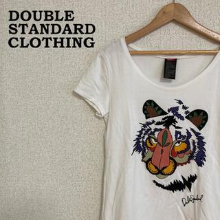 ダブルスタンダードクロージング(DOUBLE STANDARD CLOTHING)のダブスタ Tシャツ 半袖 レディース 虎 グラフィック カラフル(Tシャツ(半袖/袖なし))