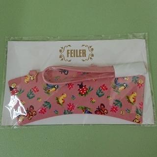 フェイラー(FEILER)のフェイラー ノベルティ ハイジ カップホルダー ピンク    ゆうパケット発送♪(ノベルティグッズ)