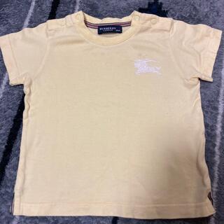 バーバリー(BURBERRY)のバーバリー☆黄色 トップス Tシャツ 80(Tシャツ)