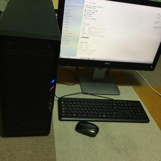 エイスース(ASUS)のi7 3770k gtx960 sesonic 電源 27インチモニター (デスクトップ型PC)