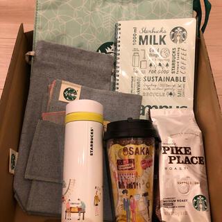 スターバックスコーヒー(Starbucks Coffee)のスターバックス25周年記念グッズ 大阪(その他)
