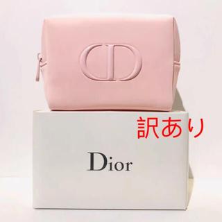 ディオール(Dior)のDior ディオール ポーチ ピンク 箱付き(ポーチ)